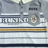 男の子のスクエア6219子供の着ることの普及したポロシャツ