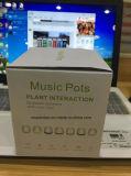 Flowerpot novo da música 2017 que canta o altofalante sem fio de Bluetooth com flores