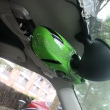Unión interior verde gato de la cubierta del espejo para Mini Cooper F56