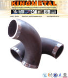 Ms Pipe Elbow de ASME B16.5 dimensiones de 45 grados