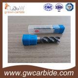 공 코 구석 반경 탄화물 Endmills 2개의 플루트 HRC60