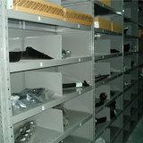 Prateleira ajustável do metal com divisores