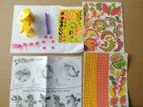Jouets de papier des gosses DIY pour l'Animal-Giraffe