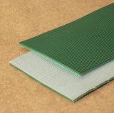 Banda transportadora industrial modificada para requisitos particulares del PVC para logístico y el aeropuerto