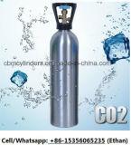 Bombole per gas di alluminio per gli usi/scuba/ossigeno medico della bevanda che respira