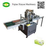 Niedrige Preis-halb automatische Abschminktuch-Papierkarton-Kasten-Verpackungsmaschine