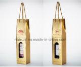 Изготовленный на заказ упаковывать размера печатание гофрирует вино бумажной коробки полного цвета