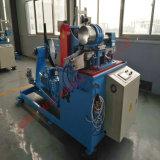 Câmara de ar espiral que dá forma à máquina para a manufatura de alumínio da tubulação do duto da folha