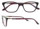 De optische Met de hand gemaakte Acetaat Eyewear van de Glazen van de Lezing van de Manier van het Frame Populaire met Ce en FDA