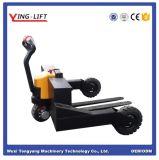 Carro de paleta hidráulico manual para el terreno áspero