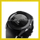 V8 de Kaart van de Steun SIM van het Polshorloge van het Tarief van het Hart van de Telefoon van Bluetooth Smartwatch