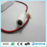 Mini Schalter-Verbinder u. Gleichstrom-Adapter für 2pin sondern Streifen 12V der Farben-LED aus