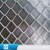 Cerca revestida galvanizada fonte da ligação Chain de /PVC da fábrica para ao ar livre