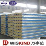 120kg/M3高密度岩綿サンドイッチパネル、厚さ50mm、75mm、100mm