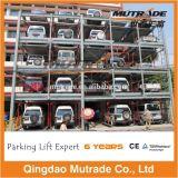 2 3 4 5 6 7 8 9 10 11 12 13 14 15の床の水平な高品質のMutradeの高い建物の油圧駐車、困惑タワーの駐車システム