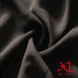 tela Chiffon preta de 95%Polyester 5%Spandex para o vestido/vestuário