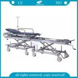 AG-HS011 움직일 수 있는 향상된 병원 환자 사용된 구급차 들것 가격