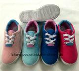 Новые ботинки холстины отдыха конструкции для малышей (FF924-14)
