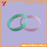 Wristband di gomma del silicone della fascia del braccialetto di marchio di Customed (YB-HD-191)