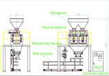 machine à emballer 25kg-50kg pour l'engrais pulvérulent