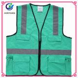 Goedkope Vest van de Veiligheid van het Gebruik van de Tijd het Weerspiegelende Beschikbare