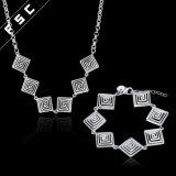 女の子のためにセットされる卸し売り火葬の宝石類ねじ糸の宝石類