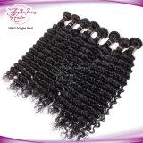 cabelo humano de Remy da onda profunda malaia da onda do cabelo do Virgin 8A