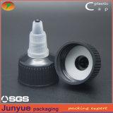 Casquillo de la tapa de la torcedura del tornillo de la fábrica 28/410 del casquillo de China, tapa plástica