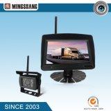 7 pouces 4CH 2.4G moniteur sans fil numérique et caméra de sauvegarde pour charrue, remorque, camion, vision de grange
