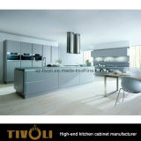 Pre Assembled Solid Wood Kitchen Cabinet with White Painting Island design Tivo - 01040h