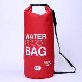 Les sports en plein air promotionnels 10L imperméabilisent le sac sec de sac à dos de baril (YKY7271)
