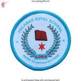 Schuluniform gestickte Abzeichen-Rückseite mit magischem Band oder Eisen-auf (YH-WB031)
