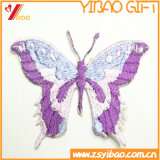 Custom Logo Embroidery Badge, Butterfly Patch e Woven Label Animal Promotion Gift (YB-Patch 410)