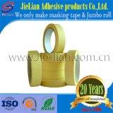 Fábrica media de China de la cinta adhesiva del papel de Crepe de la temperatura