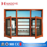 卸売価格の寝室のためのカスクリーンが付いているガラス開き窓のWindows