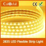 Tira flexible impermeable de la alta calidad SMD2835 DC12V LED