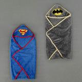 Supermann-Baby-Blau Swaddle mich Verpackung bis zum Summer - groß