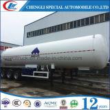 LPG 가스 트럭 트레일러를 위한 트레일러 40000~60000 리터 LPG 탱크