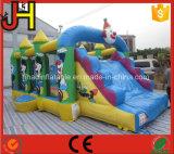 熱い販売の膨脹可能なコンボ、膨脹可能な城のスライド、子供のための膨脹可能な跳ねる城