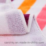 Tovagliolo di bagno della spiaggia della banda di colore del cotone