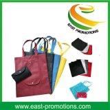 Al por mayor de productos no tejidos supermercado reutilizable plegable cesta de la compra