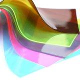 Película transparente cristalina del PVC