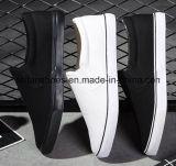 熱い販売の人の加硫させたズック靴、偶然のスリップオンの靴(FF1026-03)