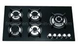 Vidrio Tempered de los utensilios de cocina construido en la estufa de gas del avellanador del gas Jzg95002