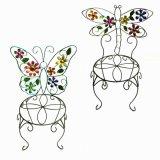 Стойка Flowerpot стула цветка металла украшения сада