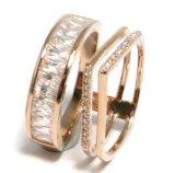 CZの石(R10648)が付いている銀製の宝石類の結婚指輪