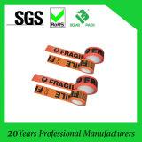 Cinta auta-adhesivo impermeable de acrílico del embalaje de lacre del cartón de la impresión de la oferta BOPP