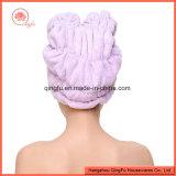 Microfiber Haar-trockenes Tuch-Salon-Tuch