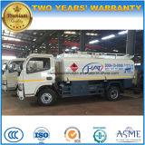 Тележка 5000L масляного бака Dongfeng 4*2 дозаправляет тележку топливозаправщика для экспорта