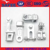 Placa de aço ajustável do garfo (encaixe da ligação de ADSS/OPGW)
